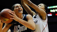UConn Powers Past Cincinnati, 67-31