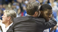 LEXINGTON - John Calipari couldn't say enough about Alex Poythress following Kentucky's 75-70 triumph over LSU on Saturday at Rupp Arena.