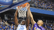 LEXINGTON — John Calipari couldn't say enough about Alex Poythress following Kentucky's 75-70 triumph over LSU on Saturday at Rupp Arena.