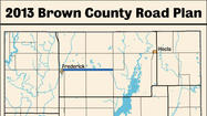 Brown County Road plan 2013