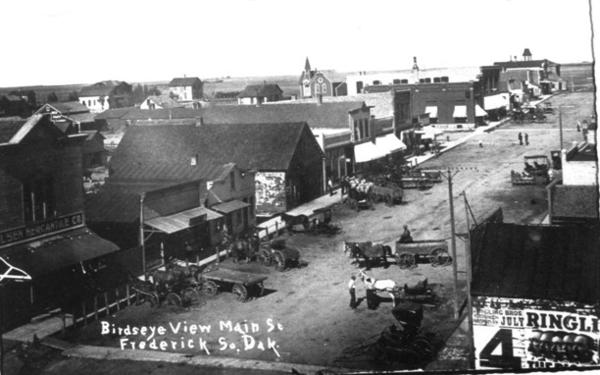 This photo shows Frederick's Main Street in about 1911.