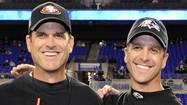 For Harbaugh brothers, a lifetime of competition comes full circle