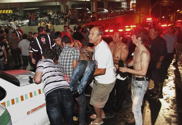 The toll from the Brazil fire could make it one of the deadliest nightclub fires in more than a decade.