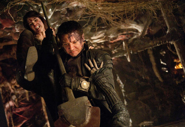 """Hansel & Gretel: Witch Hunters,"" starring Gemma Arterton and Jeremy Renner, led a soft weekend at the box office."