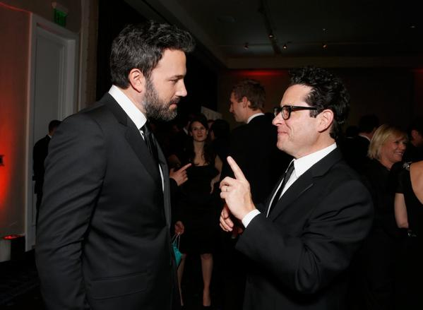 Ben Affleck and J.J. Abrams