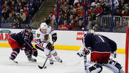 Blackhawks vs. Blue Jackets