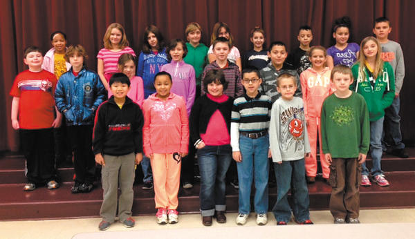 Eastern Elementary School named its Citizens of the Month for December. Front row, from left, Tyson Cheung, Karizma Ferguson, Madeline Ireland, Stephen Hernandez, Julian Moore and Ty McCaw. Middle row, Tyson Remsburg, Caleb Griffin, Kaitlyn Dorsey, Hannah Noffsinger, Jacob Lorenzen, Xavier Blair, Abigail Ballard and Avery Kops. Back row, Kenna White, Christina McNair, Sayara Akhmedova, Abigail Forrest, Kailey White, Cheyenne Fink, Malakhi Henderson, Jymika Smith and Ryan Madrak.