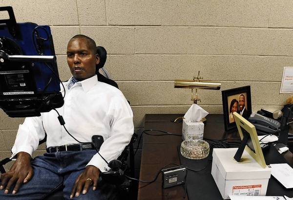 Former Ravens player O. J. Brigance is director of player engagement.