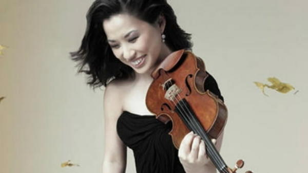 Violinist Sarah Chang performed Saturday and Sunday with the Orlando Philharmonic Orchestra.