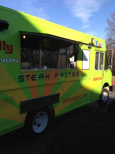 Philly Mignon, a food truck specializing in steak frites