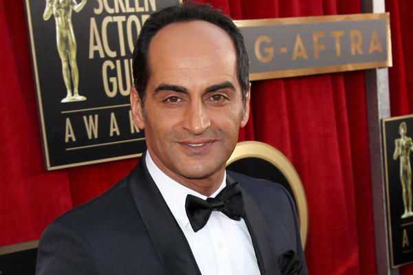 "Navid Negahban of ""Homeland"" arrives at the 19th Screen Actors Guild Awards in Los Angeles on Sunday."