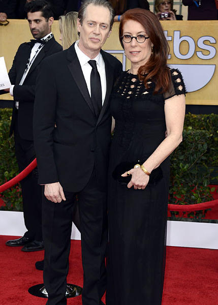 """Boardwalk Empire"" actor Steve Buscemi and his wife, Jo Andres."