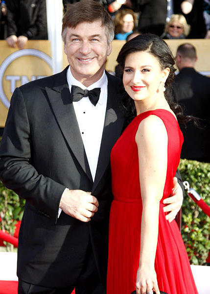 """30 Rock"" actor Alec Baldwin and his wife, Hilaria Thomas."