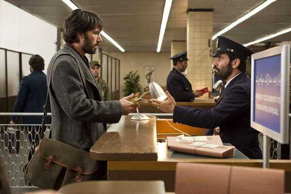 "Ben Affleck as CIA agent Tony Mendez in ""Argo."""