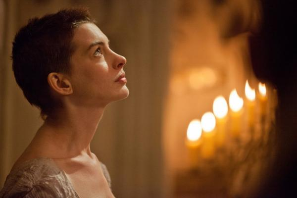 "Anne Hathaway in ""Les Miserables."""