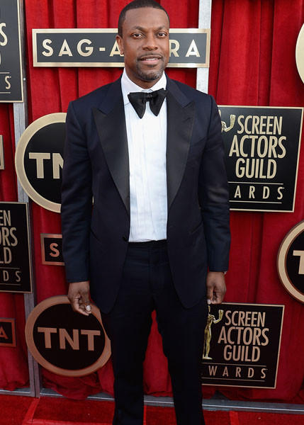 """Silver Linings Playbook"" actor Chris Tucker."