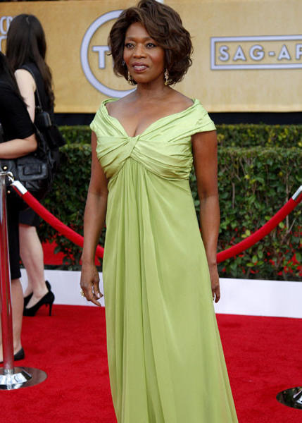 """Private Practice"" actress Alfre Woodard."