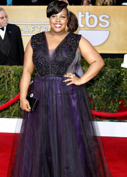 """Glee"" actress Amber Riley."