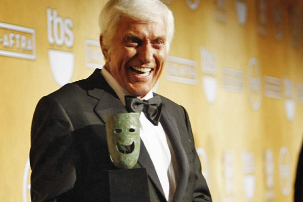 """I've been so lucky,"" said Dick Van Dyke, who got a lifetime achievement award from SAG. ""Luck has a lot to do with it. Being at the right place at the right time."""