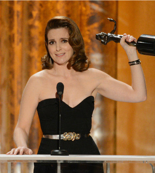 "Tina Fey and Amy Poehler are so close that the ""30 Rock"" star felt the need to thank her Best Actress in a Comedy Series rival nominee during her acceptance speech. ""I share this with my sweet friend Amy Poehler who I've known for so long,"" Fey said while accepting her Actor. ""I've stolen so many of your moves."" Since they apparently didn't get out enough of their jokes while hosting the Golden Globes together, Fey gave her best line here: ""Amy, I've known you since you were pregnant with Lena Dunham."" We all win with that. <br><br> --<i><a href=""http://www.twitter.com/terri_schwartz"">Terri Schwartz</a>, <a href=""http://www.zap2it.com"">Zap2it</a></i>"