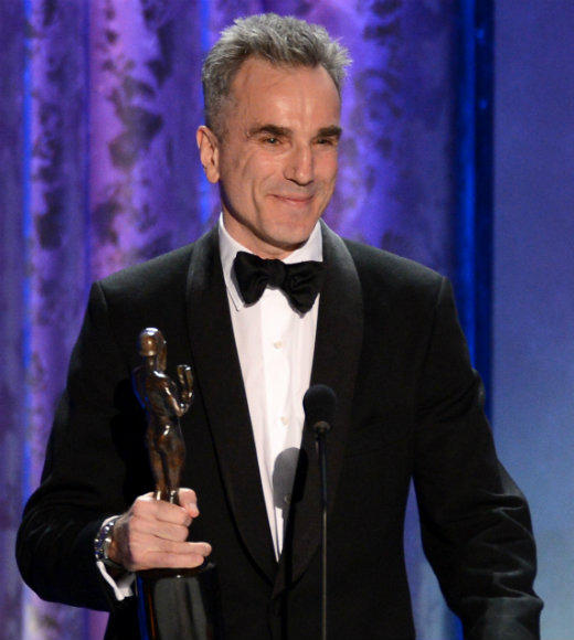 "Every single time Daniel Day-Lewis has been nominated for a lead actor SAG Award, he's also won. Which is good news for viewers because he always gives great speeches. While accepting for ""Lincoln,"" Day-Lewis gave a shout out to the un-nominated Joaquin Phoenix from ""The Master"": ""He's probably not looking in tonight, but Joaquin you are a remarkable actor and I'm sorry you're not with us this evening."" And made a clever joke about John Wilkes Booth: ""It occurred to me that it was an actor that murdered Abraham Lincoln. And therefore somehow it's only fitting that every now and then an actor tries to bring him back to life again."" <br><br> --<i><a href=""http://www.twitter.com/geoffberkshire"">Geoff Berkshire</a>, <a href=""http://www.zap2it.com"">Zap2it</a></i>"