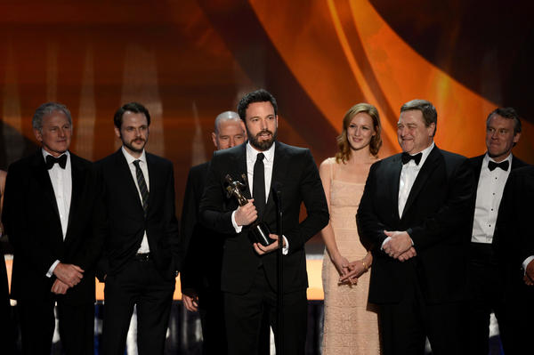 SAG Awards 2013: Best and worst moments: Argo won best ensemble cast. Does this mean we have, as a nation, officially forgiven Ben Affleck for Gigli? Its time.   --Carina Adly MacKenzie, Zap2it