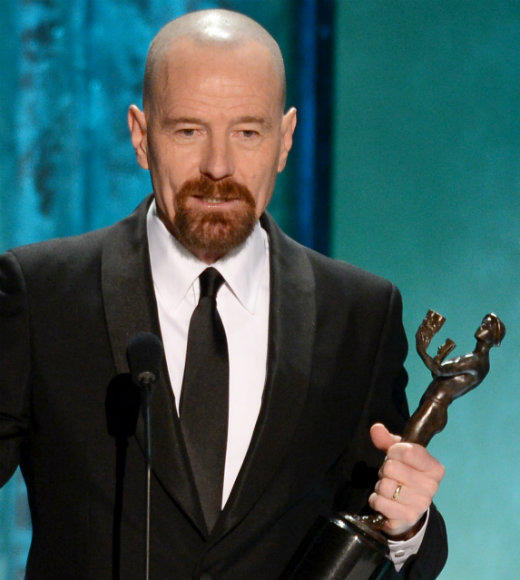 "At long last, Bryan Cranston has won a well-deserved Actor at the Screen Actors Guild Awards. The ""Breaking Bad"" star has been nominated for Best Actor in a Drama Series four times at the SAG Awards, and finally took the award home. ""It is so good to be bad,"" he said with a laugh at the start of his speech, thanking Vince Gilligan, his fellow cast members, the crew and his family for the win. ""Tonight, at least, I am well endowed."" <br><br> --<i><a href=""http://www.twitter.com/terri_schwartz"">Terri Schwartz</a>, <a href=""http://www.zap2it.com"">Zap2it</a></i>"
