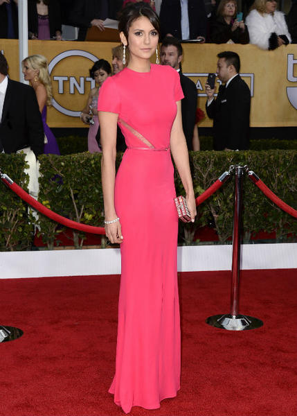 SAG Awards 2013: Best and worst moments: Our fave Vampire Diaries heroine wasnt even nominated, but luckily, she decided to grace us with her presence just for the sake of a fashion moment. Check out that Ellie Saab dress!   --Carina Adly MacKenzie, Zap2it