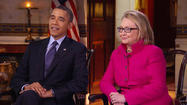 "The joint appearance by President Obama and Hillary Clinton on ""60 Minutes"" wasn't about the Democratic nomination in 2016, as some analysts have insisted this weekend."