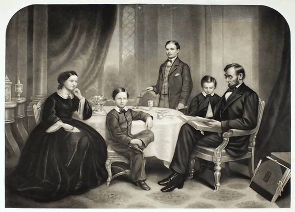 Buttre composite image of Lincoln Family