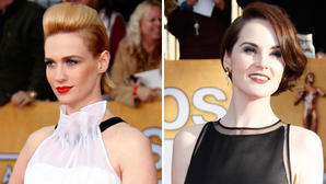 SAG Awards 2013: Red carpet takes black-and-white to the edge