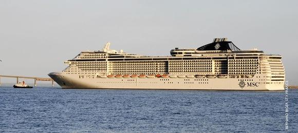 MSC Precioza at Sea Trials