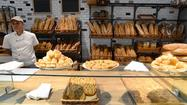 Bread counter at the Eataly food emporium