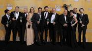 "You would think nothing could surprise multi-hyphenate Ben Affleck after he'd promoted his CIA thriller ""Argo"" for the past five months, but the actor-director-producer was clearly stunned Sunday night when the movie nabbed the ensemble prize at the Screen Actors Guild Awards."