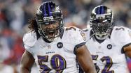 Lots of progress for Ravens linebacker Dannell Ellerbe