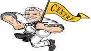 Centre College went to a zone defense with about 17 minutes to play and that enabled the Colonels to come from behind to beat Rhodes College 70-55 here Sunday.