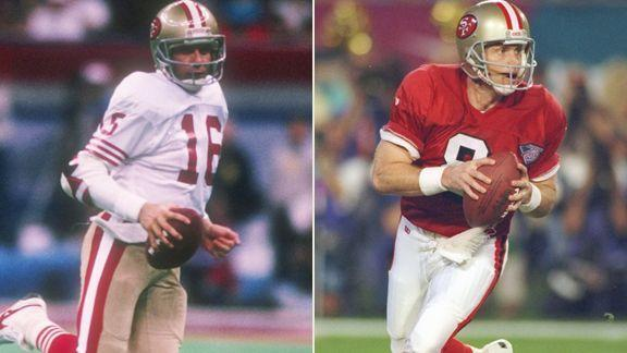 "The 49ers won five Super Bowl championships between 1981 and 1994, according to the <a href=""http://www.nfl.com/superbowl/history"">NFL's website</a>.  They remain the only team in NFL history to appear in multiple Super Bowls without ever losing.  The 49ers' championship teams were led by Hall of Fame quarterbacks Joe Montana and Steve Young."