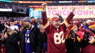 Redskins fans torn about rooting for Ravens