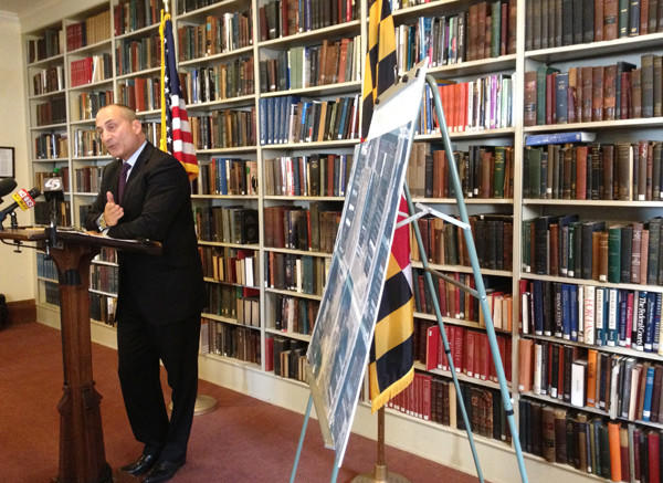 Baltimore State's Attorney Gregg Bernstein announces that no charges will be filed against the officers in the death of Anthony Anderson.
