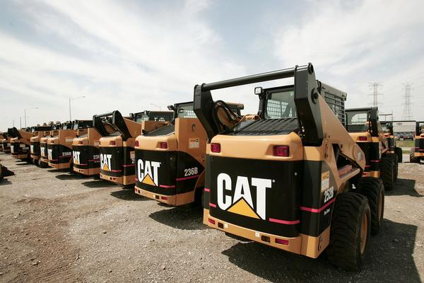 Caterpillar Inc, posted a 55% drop in fourth quarter profit due to charges taken from accounting fraud at a Chinese subsidiary and a high inventory globally.