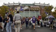 Number of Home Fields Used by the Ravens: 2