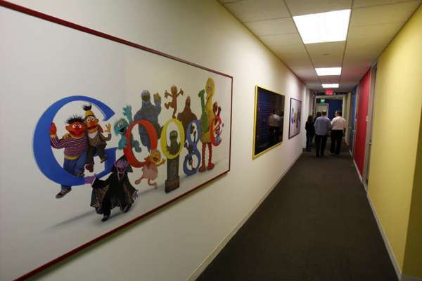 A view inside Google's Irvine office