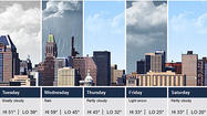 Warmer temperatures this week — high near 59 Wednesday