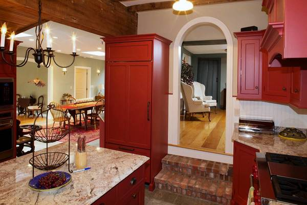 This kitchen was part of a $200,000 renovation of a Madison home owned by Nancy Riese Daly and her husband, Mark Daly.