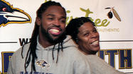 Ravens Torrey Smith visits Aberdeen [Pictures]