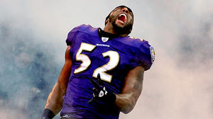 Ray Lewis' Squirrel Dance earns celebrity imitators