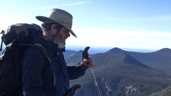 Using only a GPS device and trekking poles, the visually impaired Mike Hanson plotted and completed the majority of the Appalachian Trail without outside assistance.