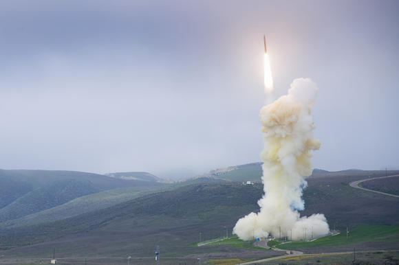 The Missile Defense Agency carryied out a successful flight test of a ground-based missile defense system from Vandenberg Air Force Base.