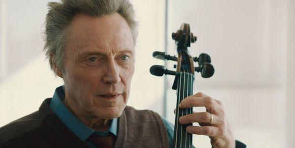 "Christopher Walken in ""A Late Quartet."""