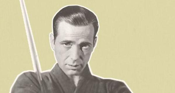 An image of Humphrey Bogart adorns the cover of Black Clock issue No. 15.